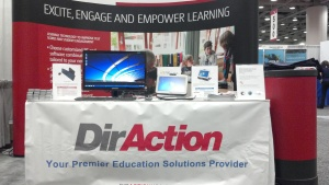 DirAction USA Booth at CSBA